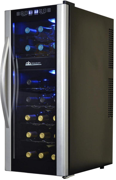 Avalon Bay 21-Bottle Dual Zone Thermoelectric Wine Cooler