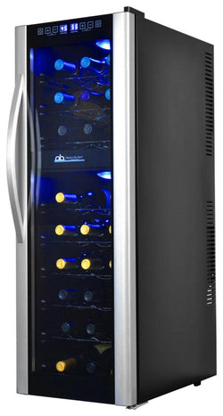 Remanufactured Avalon Bay 27-Bottle Dual Zone Thermoelectric Wine Cooler