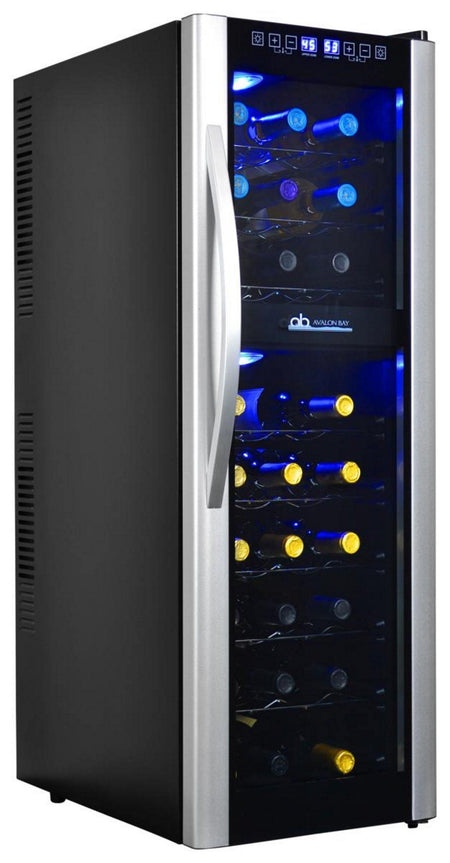 Avalon Bay 27-Bottle Dual Zone Thermoelectric Wine Cooler