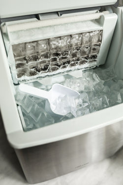 Newair Countertop Clear Ice Maker, 40 lbs. of Ice a Day with Easy to Clean BPA-Free Parts