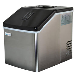 Blemished Countertop Clear Ice Maker, 40 lbs. of Ice a Day - NewAir