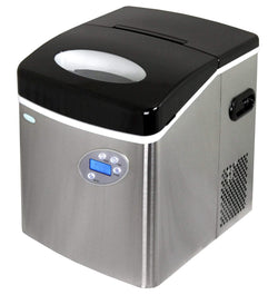 NewAir Ice Makers Stainless Steel Newair 50lbs. Portable Ice Maker | AI-215