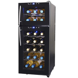 Blemished NewAir 21-Bottle Dual Zone Thermoelectric Wine Cooler