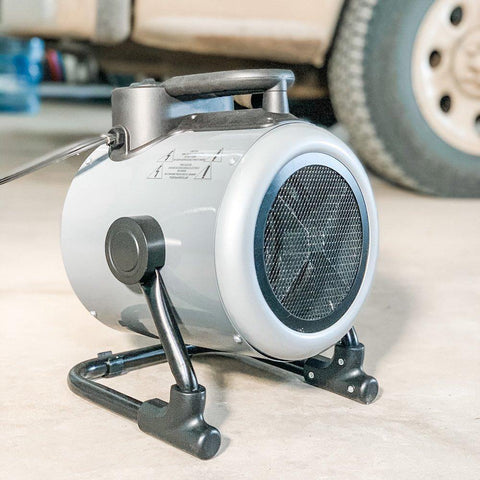 NewAir Portable 120v Electric Garage Heater, 170 sq. ft with Adjustable Tilt Head