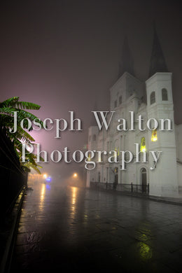 St. Louis Cathedral In The Fog