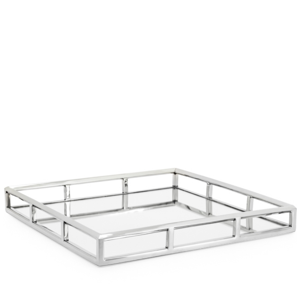 Lux Angle Edge SS Tray Square