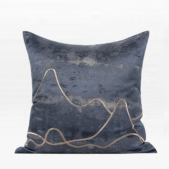 DE Salzburg Blue Cushion