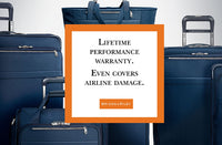 Briggs and Riley's Lifetime Performance Warranty. Even covers airline damage.