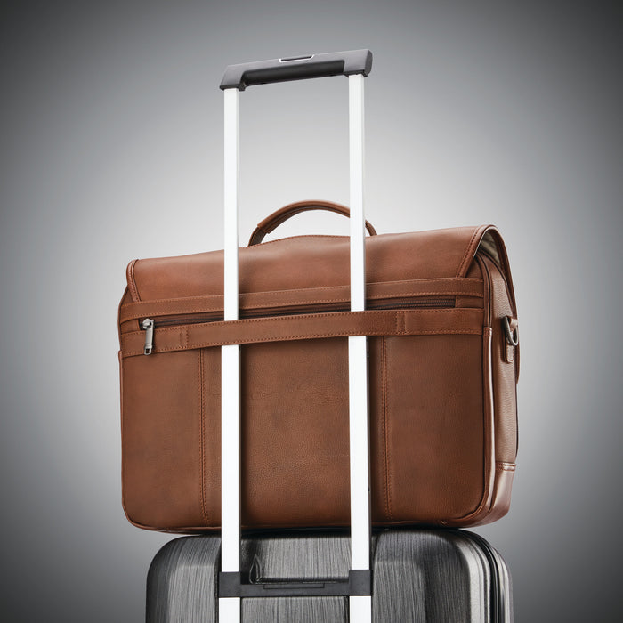 Samsonite Classic Leather Flapover