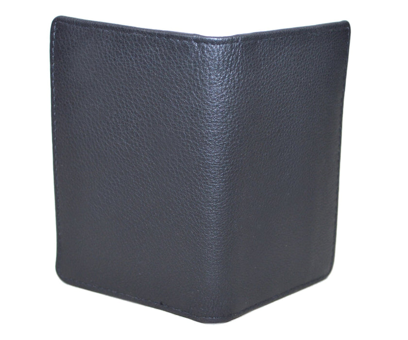 Touro Signature Leather Wallets Pebble Grain Card Case