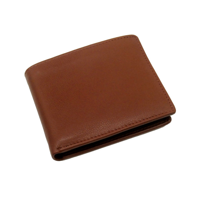 Touro Signature Leather Wallets Pebble Grain Flip ID Wallet