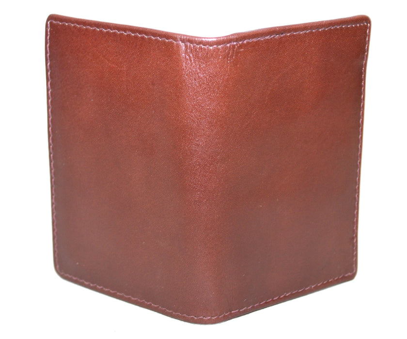 Touro Signature Leather Wallets Veg Tanned Gusset Card