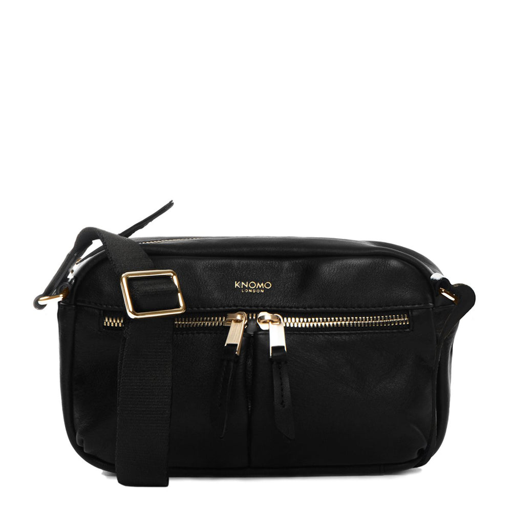 Knomo Mayfair Luxe Brook Leather Crossbody - 10""