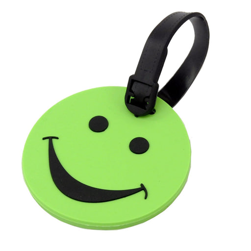 Voltage Valet - Smiley Face Luggage Tag