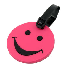 Voltage Valet Smiley Face Luggage Tag