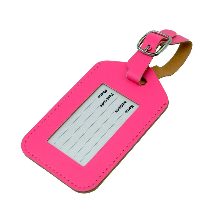 Voltage Valet - Neon Luggage Tag
