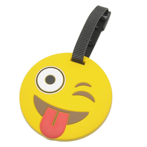 Voltage Valet - Luggage Tag - EMOJI | Tongue Out