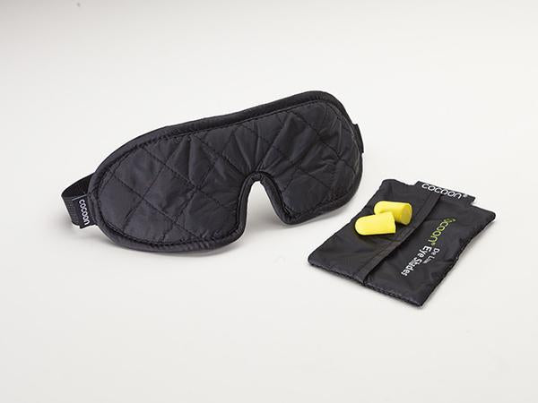Cocoon Eye Shades Deluxe With Ear Plugs