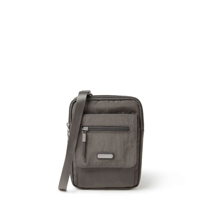 Baggallini New Classic Collection Far and Wide RFID Crossbody Bag