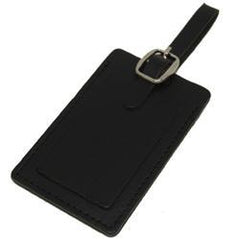 Voltage Valet - Leather Business Card Luggage Tag