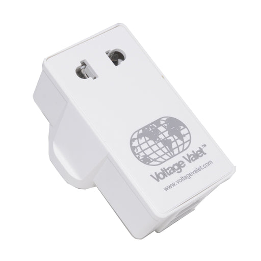 Voltage Valet - Adaptor Plug With 2 Port USB - PDU | United Kingdom / Ireland / Hong Kong