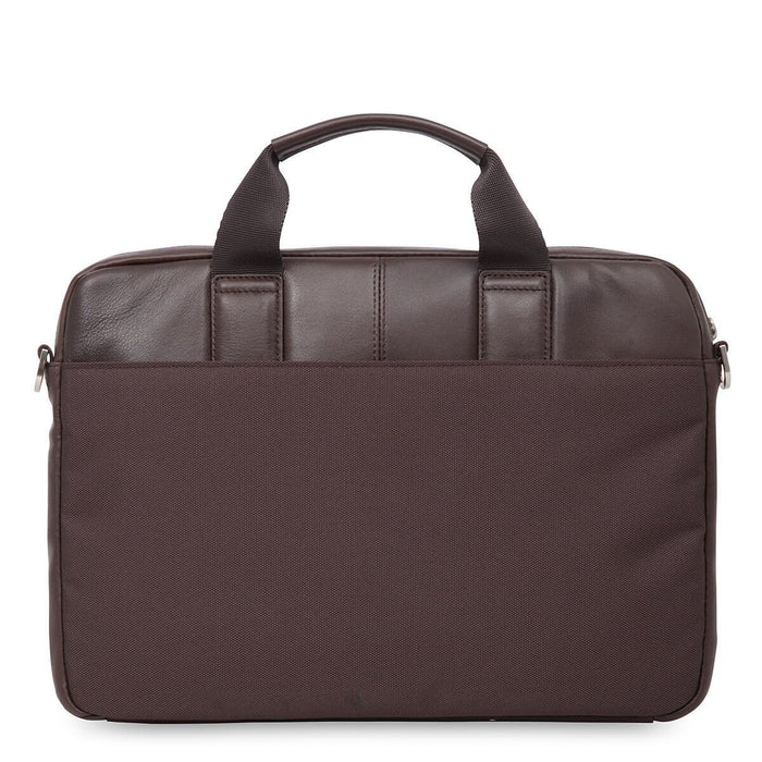 Knomo Brompton Classic Stanford Leather Laptop Briefcase – 13""
