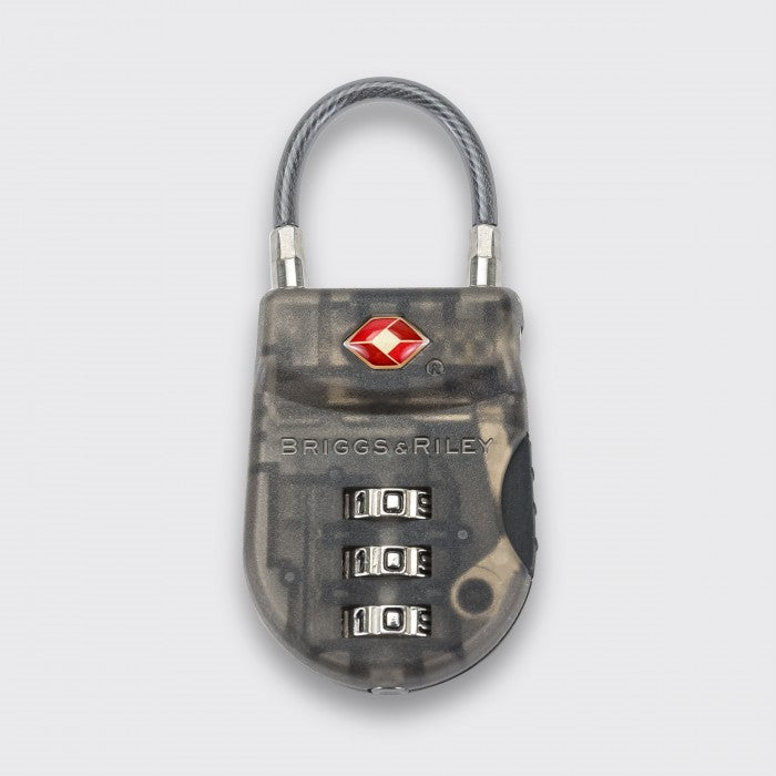 Briggs & Riley Travel Basics Plastic TSA Cable Luggage Lock