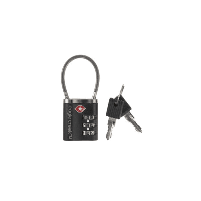 Eagle Creek Travel Security Cable TSA Lock