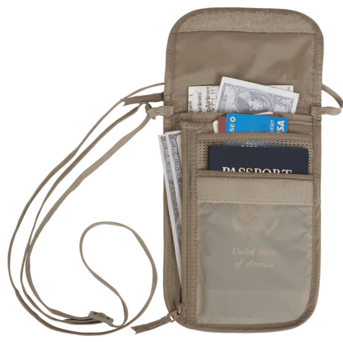 Eagle Creek Travel Security Undercover Neck Wallet DLX