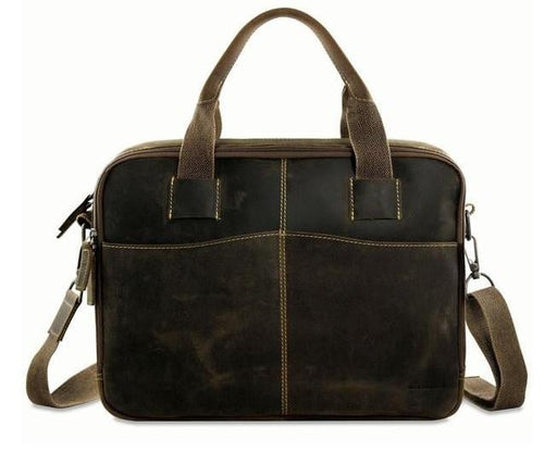 Jack Georges Arizona Zippered Briefcase