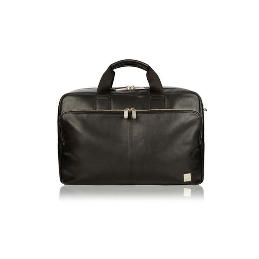 Knomo Amesbury Double Zip Leather Briefcase 15.6""