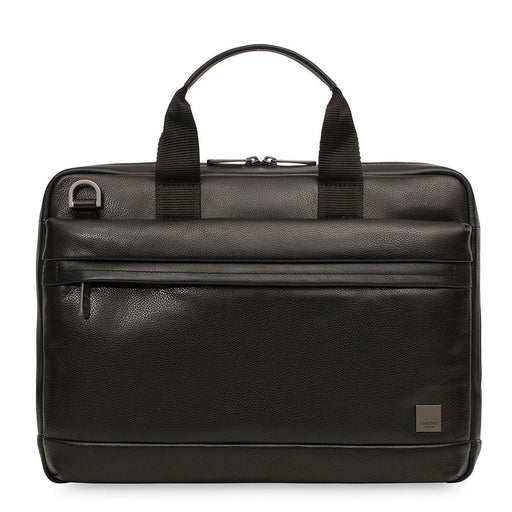 Knomo Barbican Foster Leather Laptop Briefcase - 14""
