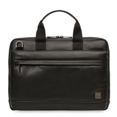 Knomo Barbican Foster Leather Laptop Briefcase - 14