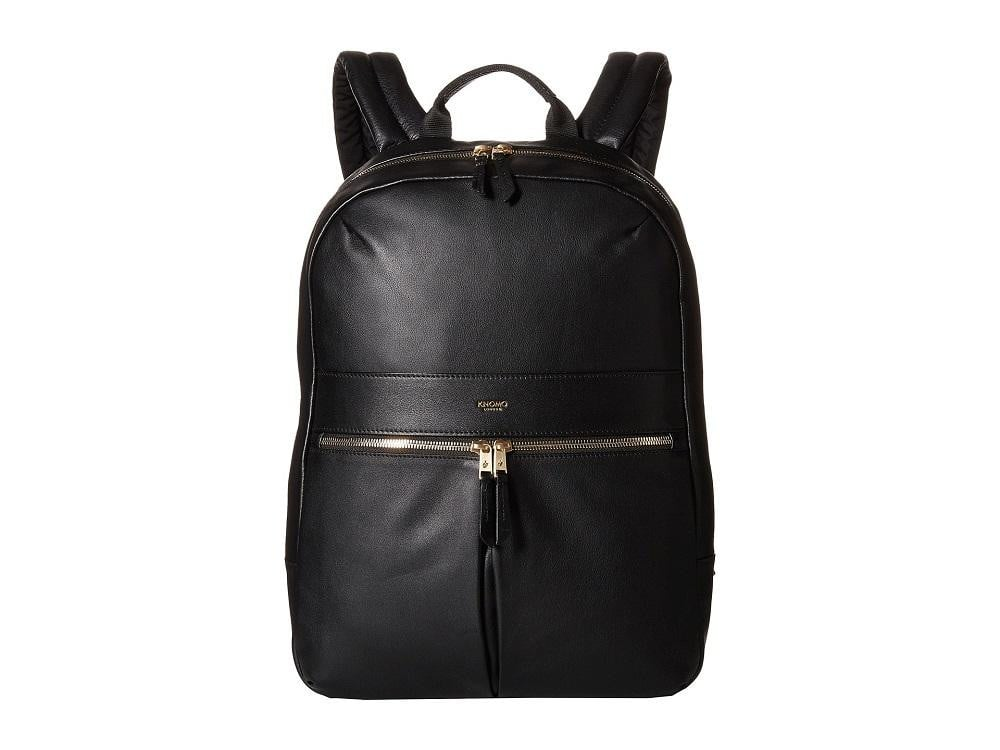 Knomo Mayfair Luxe Beaux Leather Laptop Backpack - 14""
