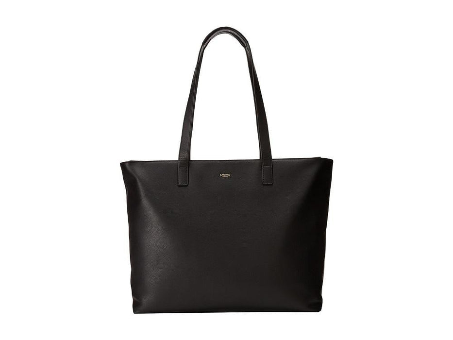 Knomo Mayfair Luxe Maddox Leather Laptop Tote Bag - 15""
