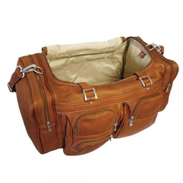 Piel 20in Duffel Bag with Pockets Piel