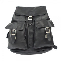 Piel Large Buckle-Flap Backpack