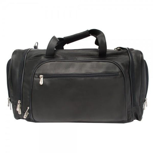 Piel Multi-Compartment Duffel Bag