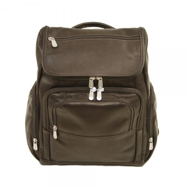 Piel Multi-Pocket Laptop Backpack