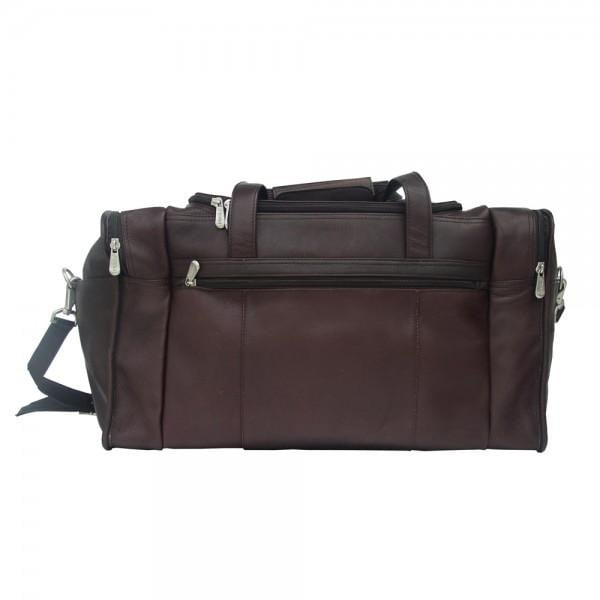 Piel Travel Duffel With Side Pockets