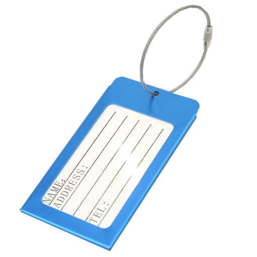 Voltage Valet - Metal Luggage Tag
