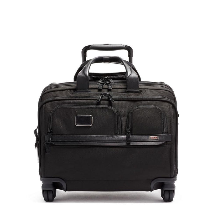 Tumi Alpha 3 Deluxe 4 Wheeled Laptop Case Brief