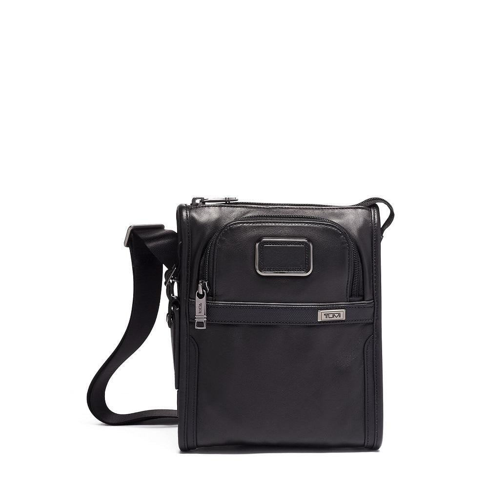 Tumi Alpha 3 Pocket Bag Leather