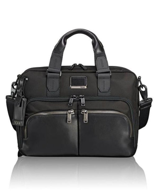 Tumi Alpha Bravo Albany Slim Commuter Brief