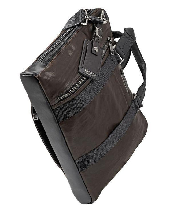 Tumi Alpha Bravo Aviano Slim Brief Leather