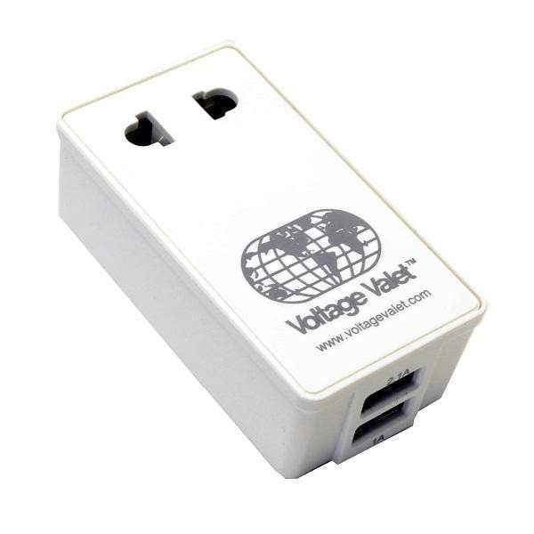 Voltage Valet Adaptor Plug with 2 Port USB - Australia, New Zealand, China - PCU