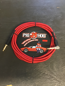 Pig Hog  10 foot cable candy apple