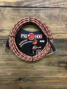 Pig Hog 20ft Cable Western Plaid