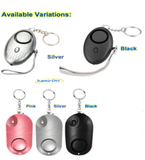 Personal Security Alarm Keychain with LED Light - Buy 1 Take 1