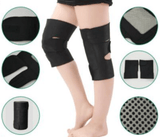 2 pieces Magnetic Therapy Knee Pads - Self-heating with Tourmaline